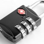 กุญแจล็อคกระเป๋าเดินทาง TSA กุญแจล็อค 3 รหัส Travel Luggage Locks TSA