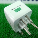 Universal Adapter หัวแปลงปลั๊กไฟ ใช้ได้ทั่วโลก (แบบพับเก็บ)
