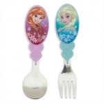 ชุดช้อนส้อม แอนนา&เอลซ่า Anna and Elsa Flatware Set