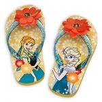 รองเท้าแตะเด็ก แอนนา&เอลซ่า Anna and Elsa Flip Flops for Kids