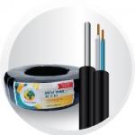 สายDROP WIREขนาด 0.9 mm. ยาว 200 เมตร Drop Wire Hi - Speed