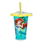 แก้วน้ำ เดอะ ลิตเติ้ล เมอร์เมด พร้อมหลอดดูด The Little Mermaid Tumbler with Straw - Small