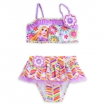 ชุดว่ายน้ำเด็ก ทูพีช ราพันเซล Rapunzel Deluxe Swimsuit for Girls - 2-Piece