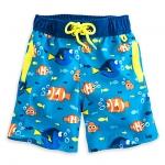 กางเกงว่ายน้ำเด็ก ไฟน์ดิ้ง ดอรี่ Finding Dory Swim Trunks for Boys