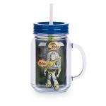 แก้วน้ำ ทอย สตอรี่ พร้อมหลอดดูด Toy Story Jelly Jar with Straw - Small