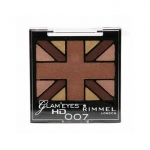 Rimmel London Glam'Eyes HD Eyeshadow Palette #007 Heart of Gold
