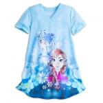 ชุดนอนเด็ก โฟรเซ่น Frozen Nightshirt for Girls