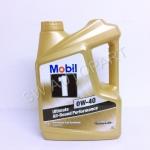 น้ำมันเครื่องโมบิลวันเบนซินสังเคราะห์ 100% Mobil 1 0W-40 4 ลิตร