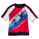 เสื้อว่ายน้ำเด็ก ไลท์นิ่ง แม็คควีน Lightning McQueen Rashguard for Boys
