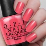 O.P.I Nail Lacquer #Cajun Shrimp