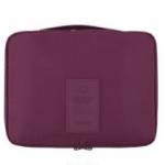 กระเป๋าอเนกประสงค์ใส่เครื่องสำอาง ใส่ของใช้ส่วนตัว (สีเลือดหมู)