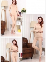 ลองจอนหญิง บุผ้าดีราคาถูก สีครีม (มีภาพสินค้าจริง สังเกตุให้ดี เป็นข้อมูลในการตัดสินใจ ได้ไม่ผิดหวังค่ะ )