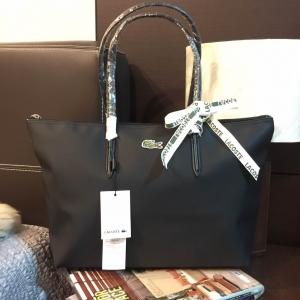 Lacoste Shopping Bag-ดำ