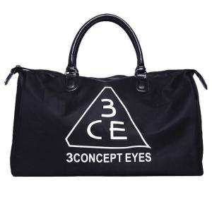 3CE Stylenanda กระเป๋าเดินทางสะพายไหล่ (สีดำ)