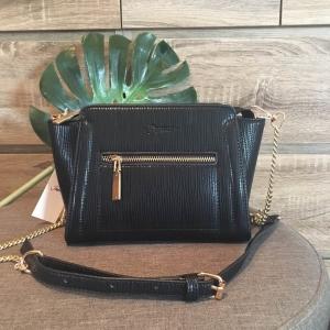 Berke กระเป๋าสะพาย ปรับเก็บสายได้-สีดำ