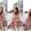 Maxi Dress สายเดี่ยว ผ้าชีฟองพริ้ว ๆ ลายสวยหวาน thumbnail 3