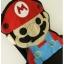 ชุดเอี๊ยม jumpsuit Super Mario เอวยืด พร้อมสายเอี๊ยมแบบถอดได้ สีดำ thumbnail 4