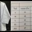 เสื้อแขนสามส่วน -ชุดขาวปฎิบัติธรรม thumbnail 1