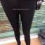 เลคกิ้งกางเกง+กระโปรง แต่งลายสก็อตขาว+ดำ บุผ้าวูลหนานุ่ม thumbnail 4