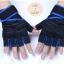 ถุงมือฟิตเนสแบบมืออาชีพ สีน้ำเงิน ไซส์ XL thumbnail 1
