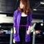 เสื้อคลุมไหมพรมแขนยาว ทรงซาร่า ตัวยาว+ฮูด thumbnail 4