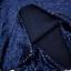 หมอนอิง Sequin Pillow Cushion Cover Pillow Case ขนาด 18 x 18 inch 45 cm. (สีน้ำเงิน) thumbnail 5