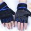 ถุงมือฟิตเนสแบบมืออาชีพ สีน้ำเงิน ไซส์ XL thumbnail 2