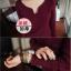 เสื้อยืดแขนยาวเข้ารูป ลองจอน บุขนด้านใน ใส่อุ่น thumbnail 2