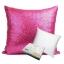 หมอนอิง Sequin Pillow Cushion Cover Pillow Case ขนาด 18 x 18 นิ้ว 45 cm. (สีชมพู) thumbnail 1