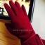 ถุงมือ หนังกลับ แต่งดีเทลที่ข้อมือดูสวยหรู งานนำเข้าเกรดพรีเมี่ยม thumbnail 12