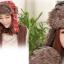 หมวกกันหนาว ทรง เอสกิโม+เฟอร์เสริมความอุ่น ใส่ได้ทั้งหญิงและชาย thumbnail 3