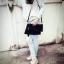 Givenchy Parfums Black Leather Clutch -สีดำ สำเนา thumbnail 7