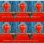 อาสนะพนักพิง พร้อมเสียบตาลปัตร งานมุกสีแดง thumbnail 2