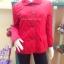 เสื้อโค้ทสีแดง งาน burberry 2 thumbnail 3