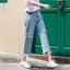 กางเกงยีนส์แฟชั่น แต่งขาด แนวเท่ห์ ๆ thumbnail 3