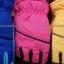 ถุงมือ สปอร์ตเด็ก สีสันสดใส บุผ้าวุลด้านใน 4-12 ขวบ thumbnail 3