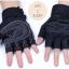 ถุงมือฟิตเนสแบบมืออาชีพ สีดำ ไซส์ L thumbnail 2