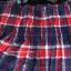 เลคกิ้งกางเกง+กระโปรง แต่งลายสก็อตน้ำเงิน+แดง บุผ้าวูลหนานุ่ม thumbnail 3