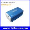 SIN018 อินเวอร์เตอร์ โซล่าเซลล์ ขนาด 500Watt Pure Sine Wave inverter STI500, 24V