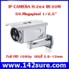 IPC008 กล้องIP CAMERA H.264 IR:50M 50.Megapixel 2.8 ~ 12 mm Full HD Real-time 1080p Day / Night W1014vG-B