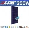 แผงโซล่าเซลล์ LDK260 Multicrystalline PV module 250W มาตราฐาน TUV IEC ใช้กับโครงการ Solar rooftop ได้