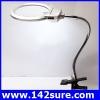 DLT012 กล้องส่องขยาย กล้องขยายชิ้นงาน Magnifying Desk Gooseneck Table Lamp 5X Magnifier Light ยี่ห้อ OEM รุ่น
