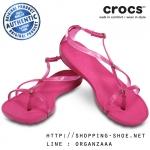 W8 (25.5 cm.) : Crocs Really Sexi Sandal - Fuchsia ของแท้ Outlet ไทยและอเมริกา