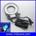LER014 หลอดไฟวงแหวน 60LED Ring Light ไฟวงแวนกล้องMicroscope LED Ring Light Blue Fluorescence Light 60 Led Stereo Microscope