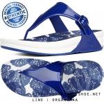 US6 : Fitflop Superjelly Printed Sole Mazarine Blue ของแท้ นำเข้าจาก USA และ UK