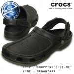 M9 (27.5 cm) : Crocs Yukon Mesa Clog - Black ของแท้ Outlet ไทยและอเมริกา