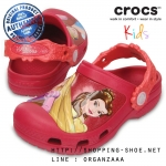 J1 (21.5 cm.) : Creative Crocs Dream Big Princess Clog - Raspberry ของแท้ Outlet ไทยและอเมริกา