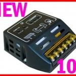 SCC004: โซล่าชาร์จเจอร์ Solar Panel Charger Controller Regulator 10A 12V/24V