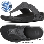 US11 : Fitflop Men's Trakk II Adjustable Pool Dark Shadow / Black ของแท้ นำเข้าจาก USA และ UK