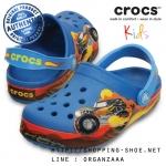 J1 (21 cm.) : Crocband Monster Truck Clog - Ultramarine ของแท้ Outlet ไทยและอเมริกา
